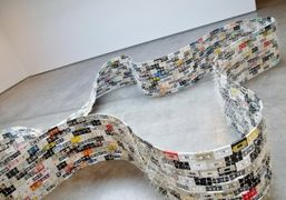 Christian Marclay's 1994 Moebius Loop is a powerful visual symbol for the…