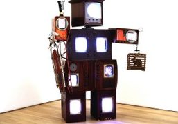 Nam June Paik exhibition at James Cohan Gallery, New York