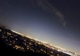 The 8pm view of Los Angeles from The Getty Center, 1200 Getty…
