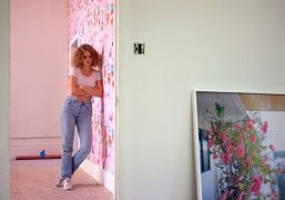 """""""Comforter"""" group exhibition curated by Petra Collins at the SFAQ Project Space,..."""