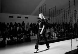 One look from Emilio De La Morena'sF/W 2014 show at Somerset House,…
