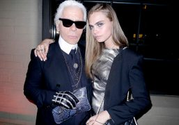 Karl Lagerfeld for Melissa capsule collection launch at EN Japanese Brasserie, New...