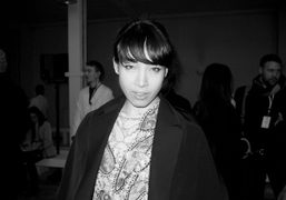 Yukimi Nagano from the Swedish band Little Dragon wearing Margiela at the…