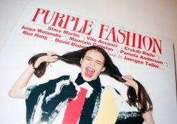 Purple Fashion magazine #21 is out now