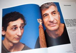Read our interview with Maurizio Cattelan about his publication Toiletpaper in Purple...