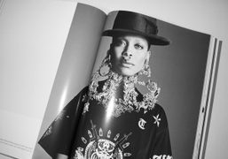See our exclusive Givenchy Mens story starring Erykah Badu in Purple Fashion...