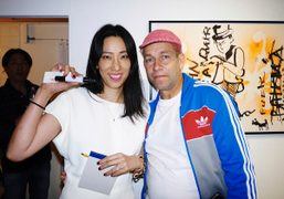"""The Last Gallery presents """"Baby Don't Mind"""" by Mark Gonzales at Gallery..."""