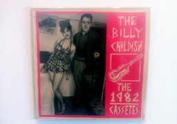 Tracey Emin and Billy Childish on an LP cover from 1980s as…