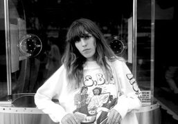 Lou Doillon at the El Rey, moments before her moving performance at…