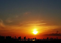 Sunset over Miami. Photo Juliana Balestin