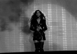Beyonce concert at the Staples center, Los Angeles