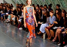 One look from the Antonio Berardi S/S 2015 show at Park House,...