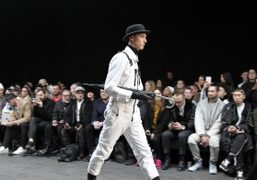 KTZ Men's F/W 2015 show at The Old Sorting Office, London