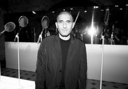 Lacoste creative director Felipe Oliveira Baptista at the Lacoste Men's F/W 2015 presentation…