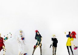 Lanvin dolls created by Alber Elbaz at Dover Street Market for their…