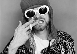 One of the very last portraits of Kurt Cobain from Jesse Frohman's…