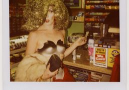 Miles DeNiro shopping before the Halloween night at the Boom Boom Room,…