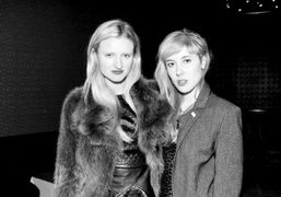 Candice Lake and Paula Goldstein at the This is New Yorkparty at…