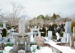 The funeral of Chikashi Suzuki's grandmother, Tokyo