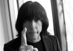 The legendary Marky Ramone, backstage at the Acne S/S 2013 show, London….