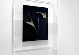 UNPAINTED PAINTINGS CURATED BY ALISON GINGERAS at luxembourg & dayan, new york