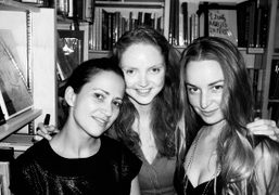 """""""A Good Yarn"""" Book Launch with Lily Cole at Claire de Rouen..."""