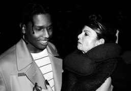 """Private screening of A$AP Rocky's new video """"Chevy"""" at the Mondrian Hotel,..."""