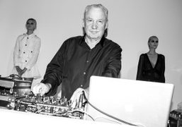 Italian record producer, songwriter, performer, and DJ Giorgio Moroder at the Ter et…