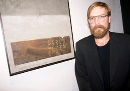 """Chad Muska's new """"Transitions"""" show opening at New Image Art Gallery, West..."""