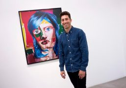 "Daniel Gordon's opening of ""The Green Line"" at M+B Gallery, Los Angeles"