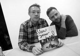 """Diplo and Shane McCauley """"Blow your Head"""" book signing at Family Books,..."""