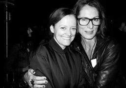 Emma Reeves and director Cheryl Dunn at Everybody Streetpremiere at Cinefamily Theatre,…