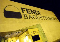 """Fendi Baguette"" exhibition reception at Maxfield, Los Angeles"