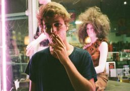 The Canadian singer Mac DeMarco in Silver Lake, Los Angeles. Photo Brad…