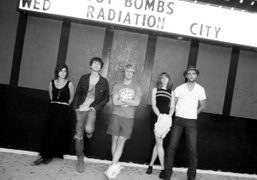 Radiation City from Portland before their concert at The Satellite in Silver…