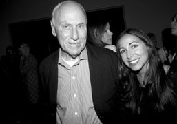 """Richard Serra's opening of """"Double Rifts"""" at The Gagosian Gallery Beverly Hills"""