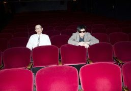 Exclusive photos of Sparks before their performance at the Ace Hotel, Los...