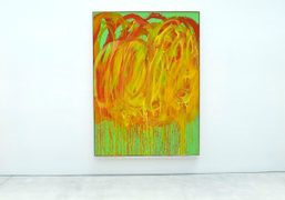 CULT ARTIST CY TWOMBLY at Gagosian Gallery, Los Angeles