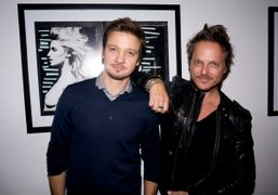 """Randall Slavin's """"Wet Dreams"""" Exhibit hosted by Jeremy Renner at Gallery Brown,..."""