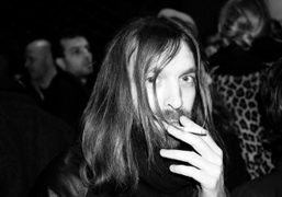 Breakbot from Ed Banger Records at the Pompon pop-up club party for Colette…