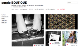 New : create your own Purple Boutique!