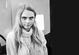 Cara Delevingne at the launch of her second collection for Mulberry, New…