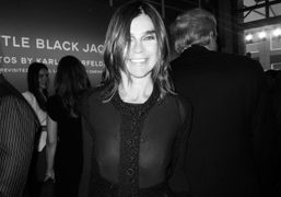 The opening of Chanel's Little Black Jacket Exhibition, New York