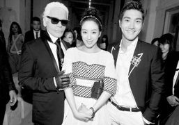 Chanel Cruise 2013/14 after show at Loewen Cluster, Singapore