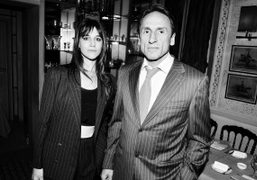 Tommy Hilfiger dinner in honor of a bag featuring Charlotte Gainsbourg at...
