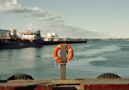 A trip to the harbors of Auckland and Timaru, New Zealand