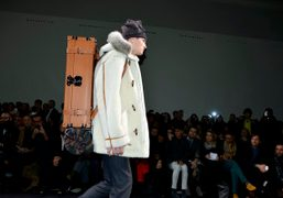 Louis Vuitton Men's F/W 2013 show at The Grand Palais, Paris