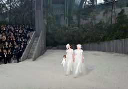 Chanel Couture S/S 2013 show at the Grand Palais, Paris