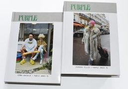Purple Index 76: discover the two covers by Juergen Teller