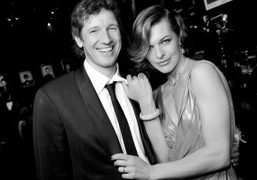 Paul W.S. Anderson and Milla Jovovich at the amfAR Cinema Against AIDS…